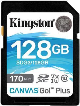 Kingston Canvas Go! Plus SDXC 128GB