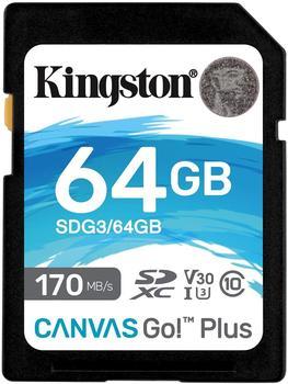 Kingston Canvas Go! Plus SDXC 64GB