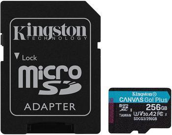 Kingston Canvas Go! Plus microSDXC 256GB (Adapter)