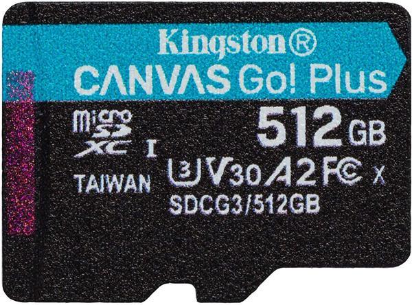Kingston Canvas Go! Plus microSDXC 512GB
