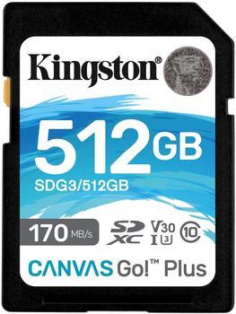 Kingston Canvas Go! Plus SDXC 512GB