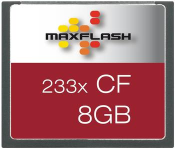 MaxFlash Compact Flash 8GB 233x (CF8G233M-R)