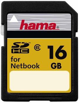 Hama High Speed Pro SD HC 16GB Class 6 für Netbook (00094186)
