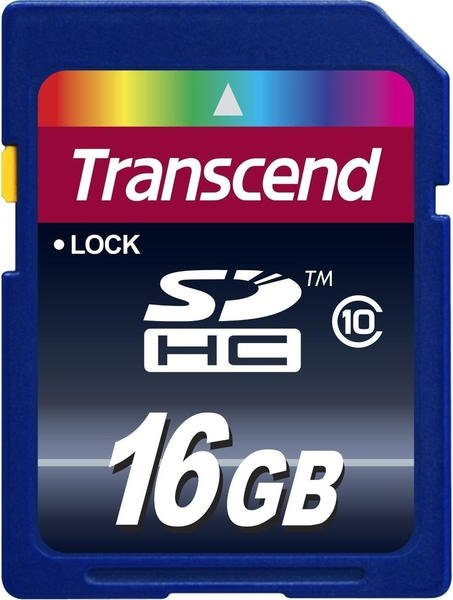 Transcend Extreme-Speed SDHC 16GB Class 10 (TS16GSDHC10)