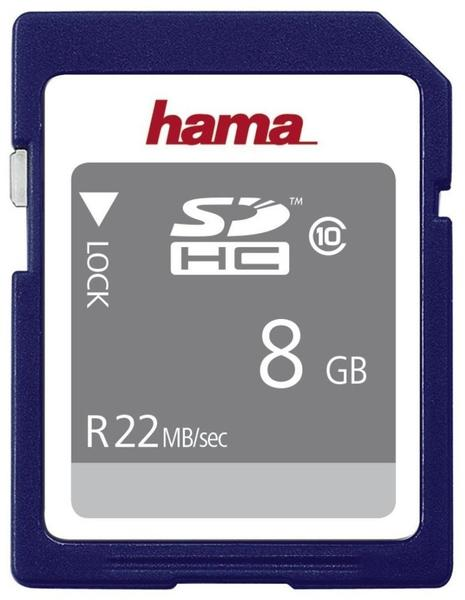Hama SDHC High Speed Gold 8GB Class 10 (00104366)