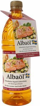 Albaöl Schwedische Rapsöl-Zubereitung mit Buttergeschmack 750 ml