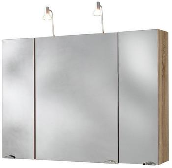 Posseik Spiegelschrank 90 cm Sonoma Trüffel