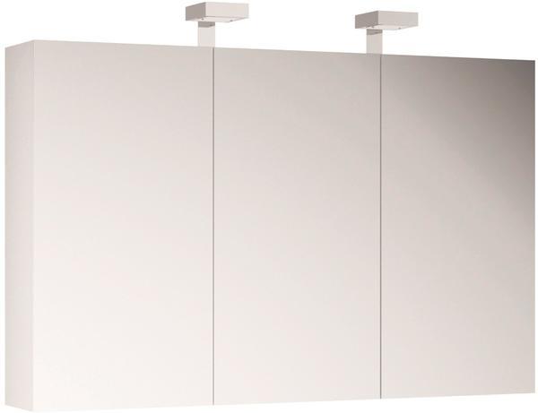 Allibert Spiegelschrank 120 cm weiß