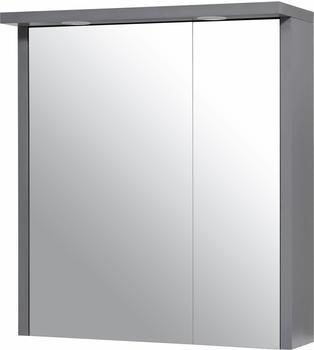 Schildmeyer Spiegelschrank »Spot 1D« mit LED Beleuchtung grau