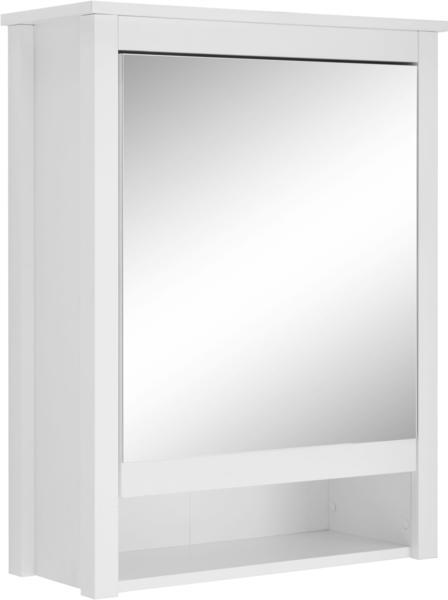 trendteam Spiegelschrank 62 cm weiß