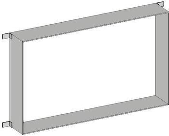 Emco Einbaurahmen für asis prime 2 Lichtspiegelschrank 1000mm