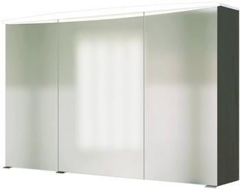 Held MÖBEL Spiegelschrank Florida, Breite 100 cm grau