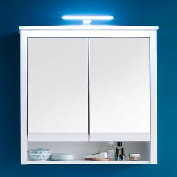 trendteam Spiegelschrank Ole mit LED Beleuchtung weiß Inklusive Beleuchtung