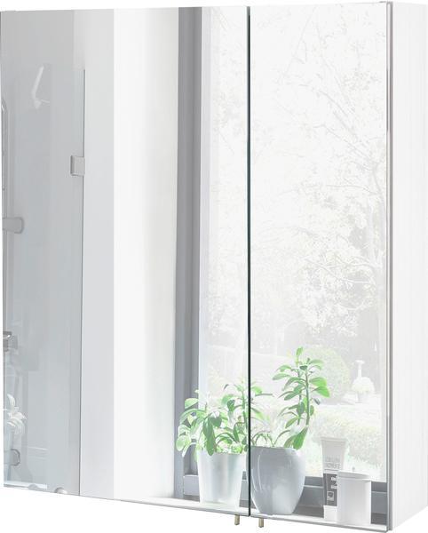 Schildmeyer Spiegelschrank Sps70, weiß glanz