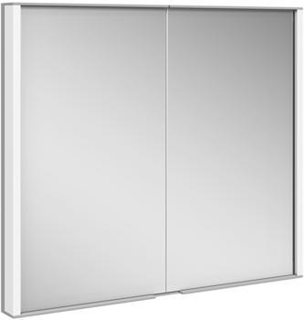 Keuco Royal Match Wandeinbau-Spiegelschrank mit LED-Beleuchtung B: 80 H: 70 T: 14,9 cm 12812171301, EEK: A++