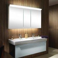 Schneider FACELINE Spiegelschrank mit LED-Beleuchtung B: 150 H: 75,5 T: 16 cm 152.250.02.50, EEK: A+