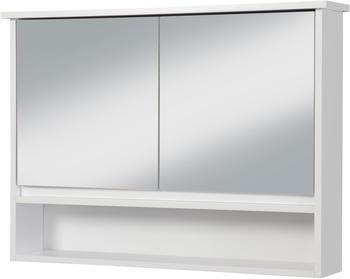 NECKERMANN Spiegelschrank »Luzern«, 2 Türen und 3 Ablagen weiß