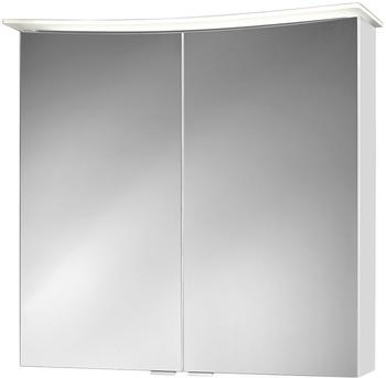 JOKEY Spiegelschrank »Lightbend«, weiss, 75 cm Breite weiß