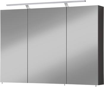 Schildmeyer Spiegelschrank Torino, 100 cm Breite grau
