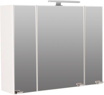 Posseik Spiegelschrank 90 cm mit LED Lampe