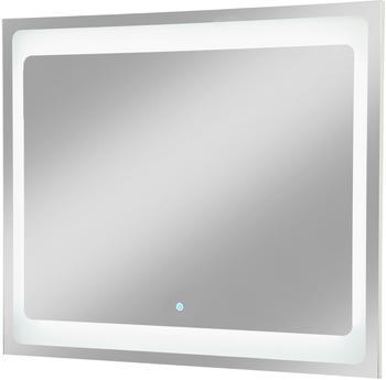 Fackelmann Spiegelelement Hype 2.0, Breite 80 cm silberfarben