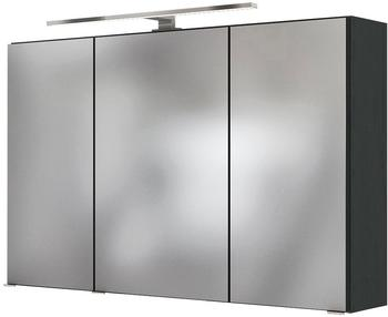 held-m-ebel-badezimmerspiegelschrank-livorno-3d-spiegelschrank-100-inklusive-led-beleuchtung-grau