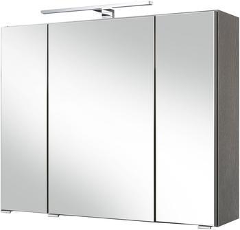 held-m-ebel-spiegelschrank-malibu-breite-80-cm-mit-spiegeltueren-und-tuerendaempfern-grau