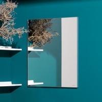 Laufen frame 25 Spiegel ohne Licht B: 60 H: 70 T: 2,5 cm silber eloxiert H4474029001441