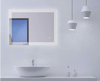 Talos Badspiegel TRACE, (Komplett-Set) schwarz und Spiegelschränke Badmöbel Badaccessoires Möbel sofort lieferbar