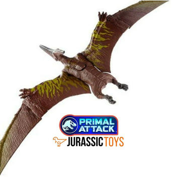 Mattel Jurassic World Primal Attack Sound Strike Pteranodon GJN68
