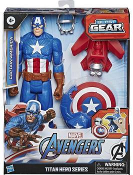 Hasbro Avengers - Titan Hero Blast Gear Actionfigur - Captain America