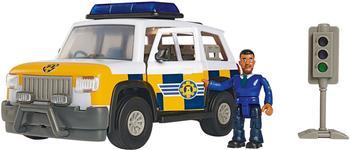 Simba Feuerwehrmann Sam Polizeiauto mit Figur Malcolm