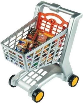 Klein Einkaufswagen gefüllt 9691