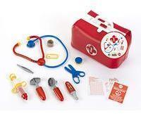 Theo Klein 4647 4647-Arzttasche mit viel Zubehör, Spielzeug, Rot