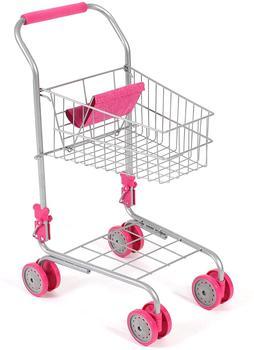 Bayer-Chic Spiel-Einkaufswagen mit Puppensitz pink