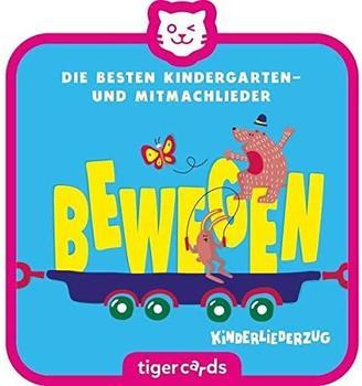 Tiger Media tigercards - Die besten Kindergarten- und Mitmachlieder - Bewegen Kinderliederzug