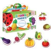 Roter Käfer Magnetspiel Früchte & Gemüse