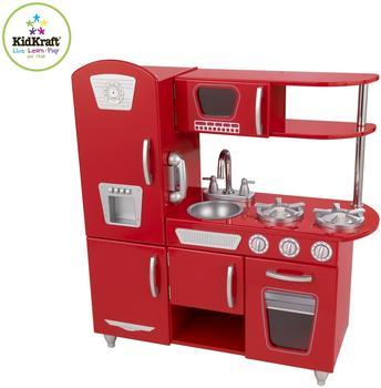 KidKraft Retro-Küche - rot (53156)