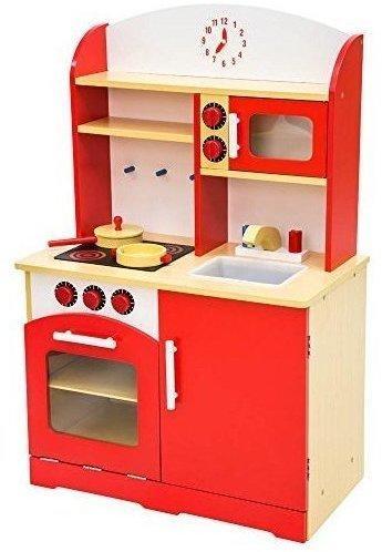 TecTake Spielküche rot (401235)