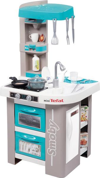 Smoby Tefal Studio Bubble Küche blau