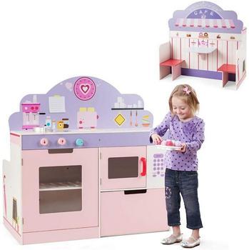 Costway 2in1 Spielküche und Restaurant