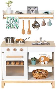 Musterkind Spielküche Magnolia weiß/natur