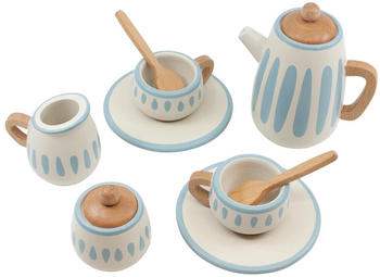 Sebra Tee-Set aus Holz (11 tlg)