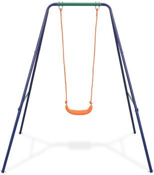 vidaXL 2-in-1 single swing orange