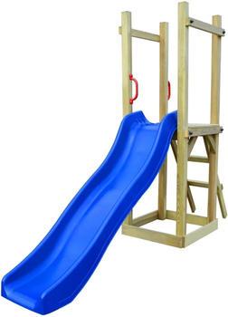 VidaXL Playhouse with slide ladder 237 x 60 x 175 cm FSC pinewood