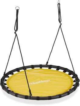relaxdays-nestschaukel-120-cm-gelb