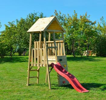 Wendi Toys Spielturm Hase rot