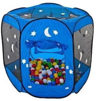 Smart & Clever Bällebad blau mit 400 Bällen