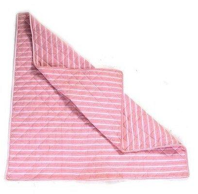 Win Green Wigwam Multi-Stripe - Floor Quilt Rose