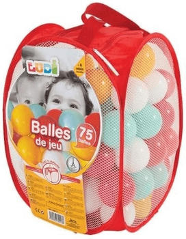 Ludi 75 Spielbälle rot